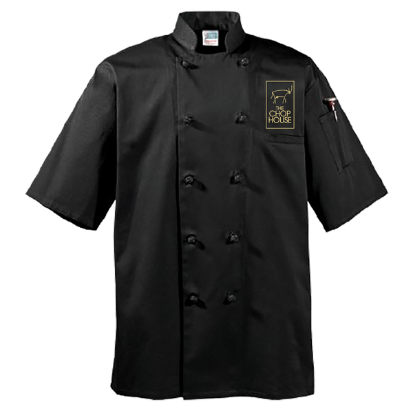 Classic Chef Coat - 1/2 Sleeve