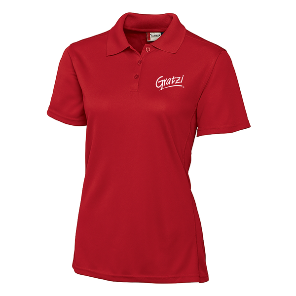 Gratzi Ladies Polo - Red