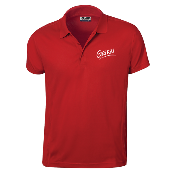 Gratzi Men's Polo - Red