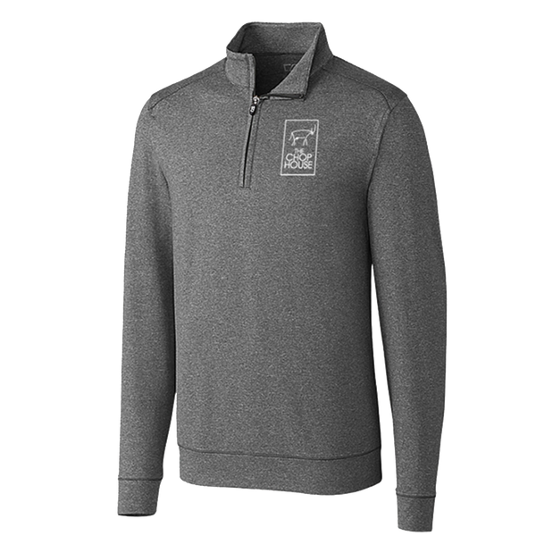 Cutter and Buck Men's Shoreline Half Zip - Charcoal Heather