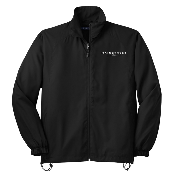 Mainstreet Ventures Wind Jacket - Black