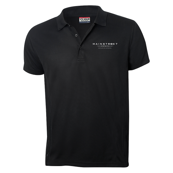 Mainstreet Ventures Men's Polo - Black