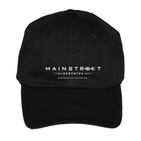 Mainstreet Ventures Baseball Hat - Black