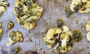 GRILLED CAULIFLOWER WITH ZA'ATAR
