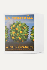 LA MONTANA Winter Oranges Scented Candle 220g - STIL Lifestyle