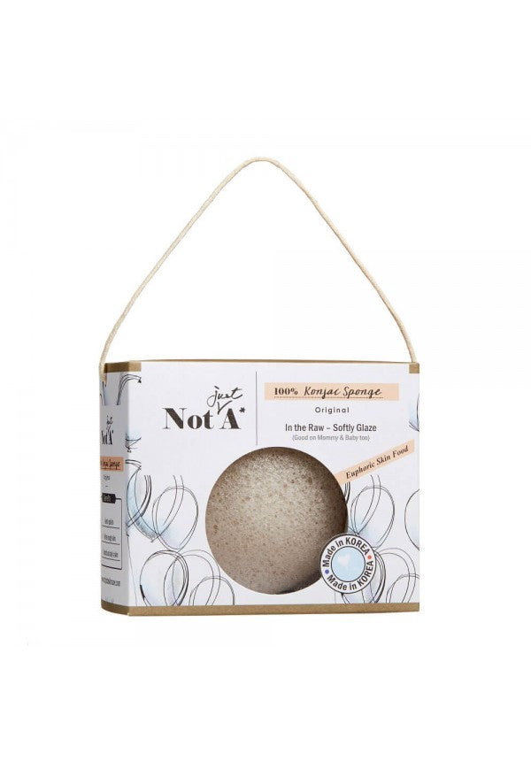 NOT JUST A* In The Raw Konjac Sponge