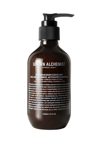 GROWN ALCHEMIST Intensive Body Exfoliant with Activated Charcoal 200ml