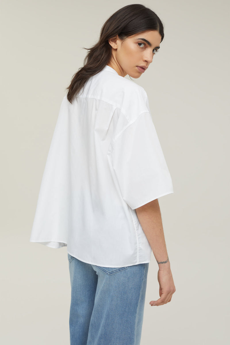 CLOSED ORGANIC COTTON POPLIN BLOUSE