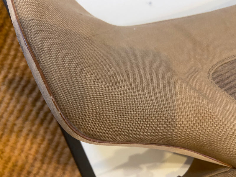 CATE BLANCHETT PRE-OWNED - Burberry Twill Ankle Boot SOLD