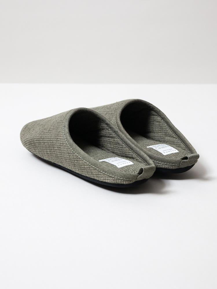 MOKU JAPANESE ROOM SHOES IN OLIVE