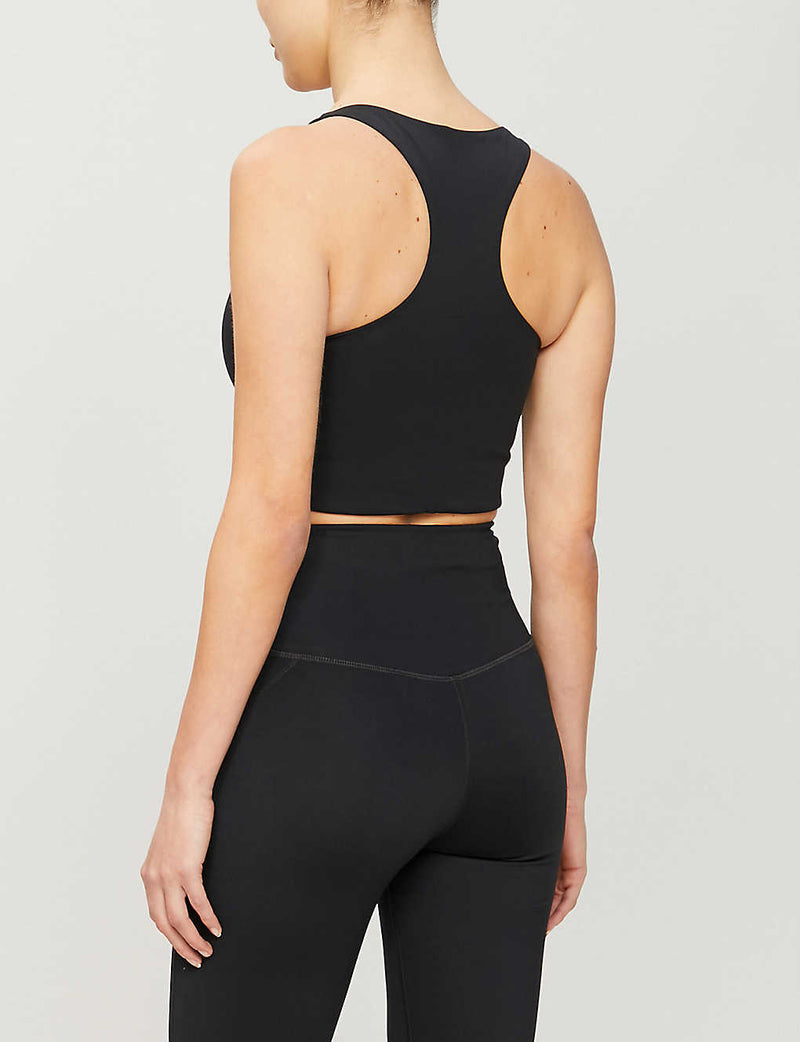 GIRLFRIEND COLLECTIVE Paloma Stretch Sports Bra in Black