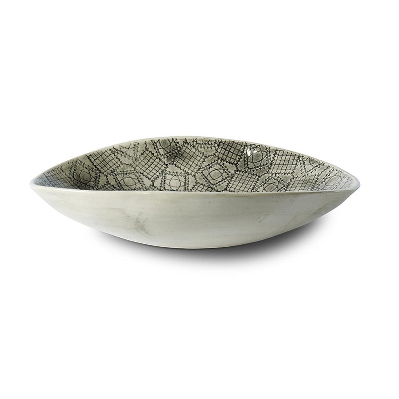 WONKY WARE Etosha in Mixed Lace Charcoal - Medium