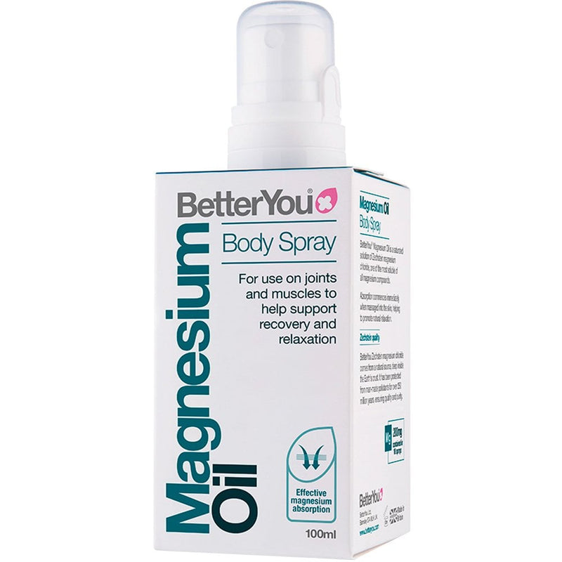 BETTER YOU Magnesium Body Oil Spray 100ml
