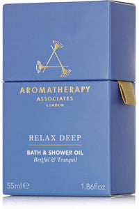 AROMATHERAPY ASSOCIATES  Deep Relax Bath & Shower Oil 55ml - STIL Lifestyle