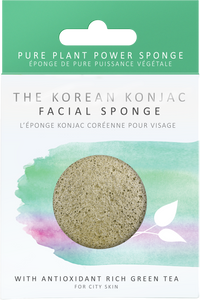 KONJAC Facial Sponge with Green Tea - STIL Lifestyle