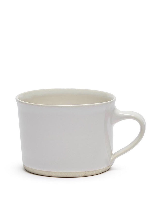 WONKI WARE Squat Mug in Plain Sand White Sold Out