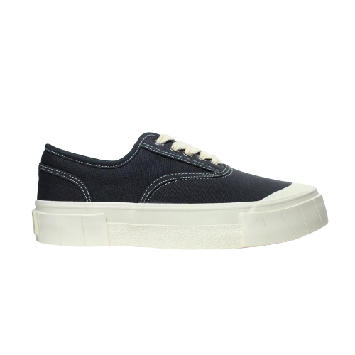 GOOD NEWS Organic Cotton Sneakers in Navy