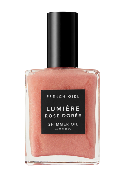 FRENCH GIRL Lumiere Rose Dore Shimmer Oil 60ml