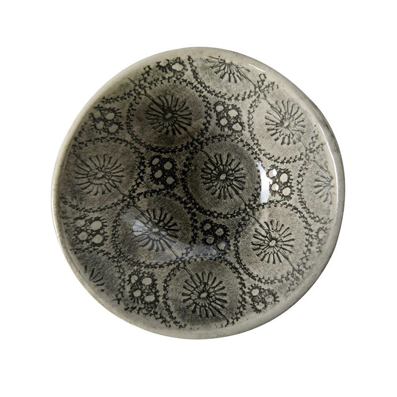 WONKI WARE Salt/ Pepper Dish in Charcoal Lace - STIL Lifestyle