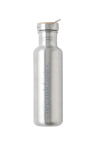 ORGANIC BASICS Stainless Steel Water Bottle