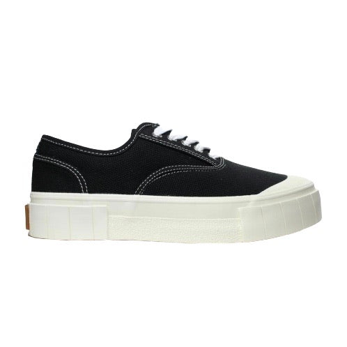 GOOD NEWS Organic Cotton Sneakers in Black
