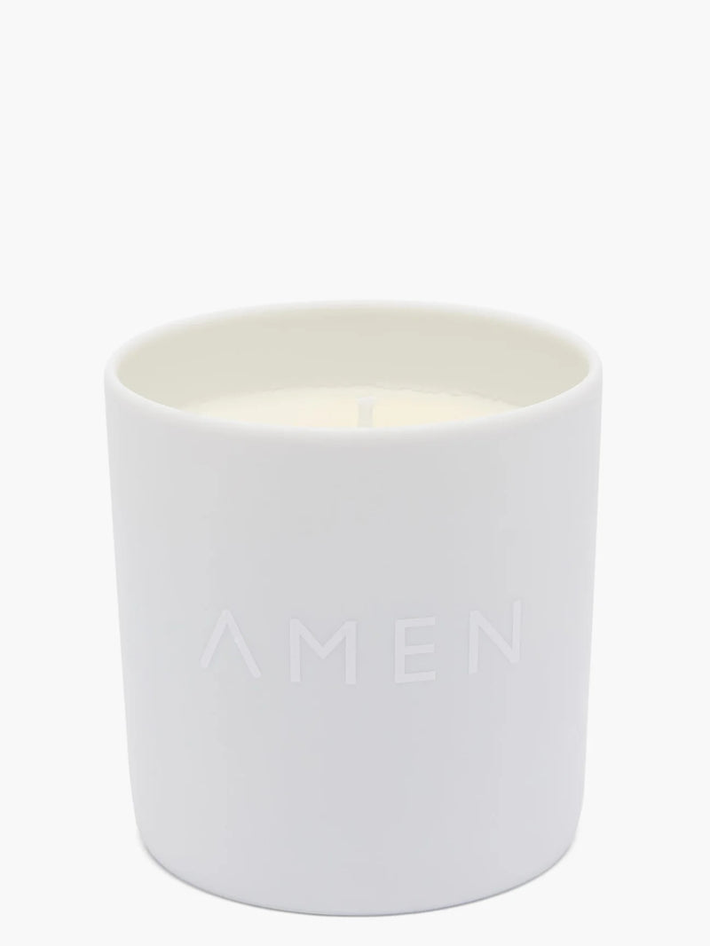 AMEN CANDLES JASMINE SCENTED CANDLE CHAKRA 06 200g