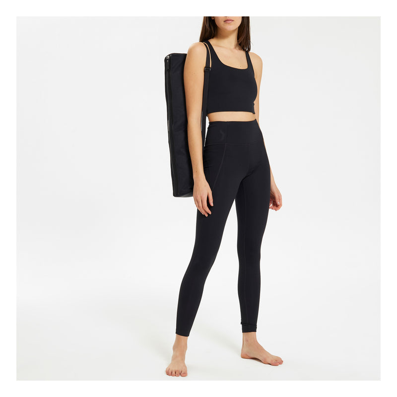 GIRLFRIEND COLLECTIVE Compression Stretch Leggings in Black