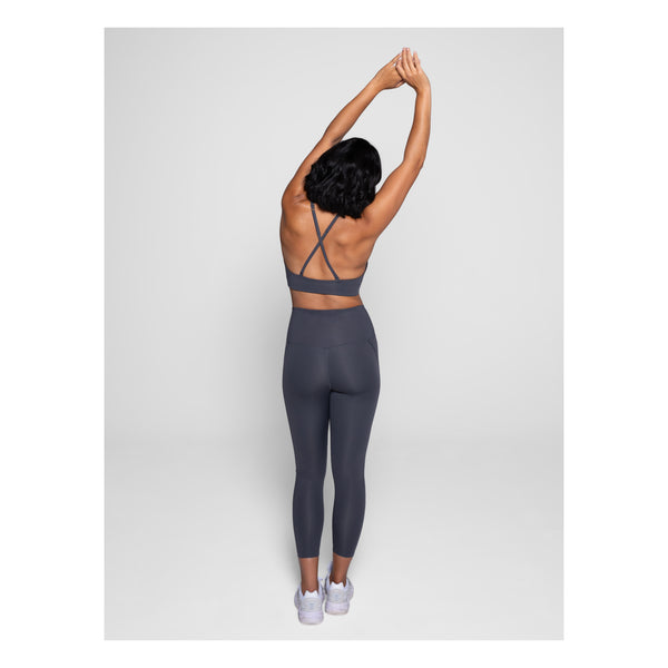 GIRLFRIEND COLLECTIVE Compression Stretch Leggings in Grey