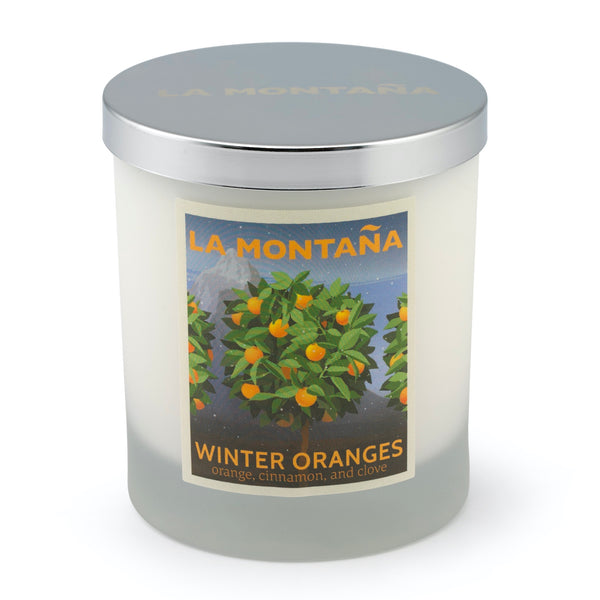 LA MONTANA Winter Oranges Scented Candle 220g Sold Out