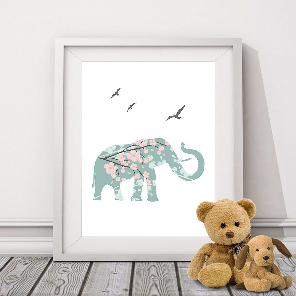 ELEFANT Canvas Print
