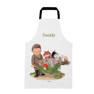 Percy The Park Keeper Apron Adults Personalised Percy & Friends Wheelbarrow Apron