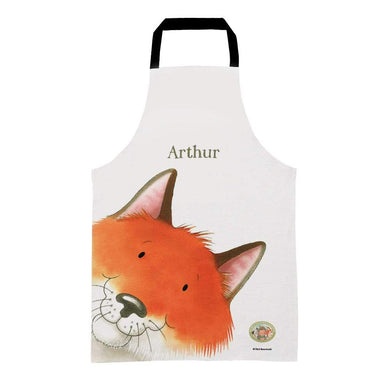 Percy The Park Keeper Apron Kids (Age 3-7) Personalised Fox Apron