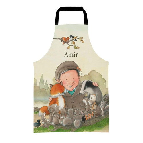 Percy The Park Keeper Apron Kids (Age 3-7) Personalised Percy and Friends Apron