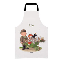Percy The Park Keeper Apron Kids (Age 3-7) Personalised Percy & Friends Wheelbarrow Apron