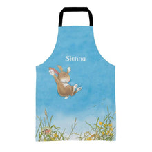 Percy The Park Keeper Apron Kids (Age 3-7) Personalised Rabbit Apron