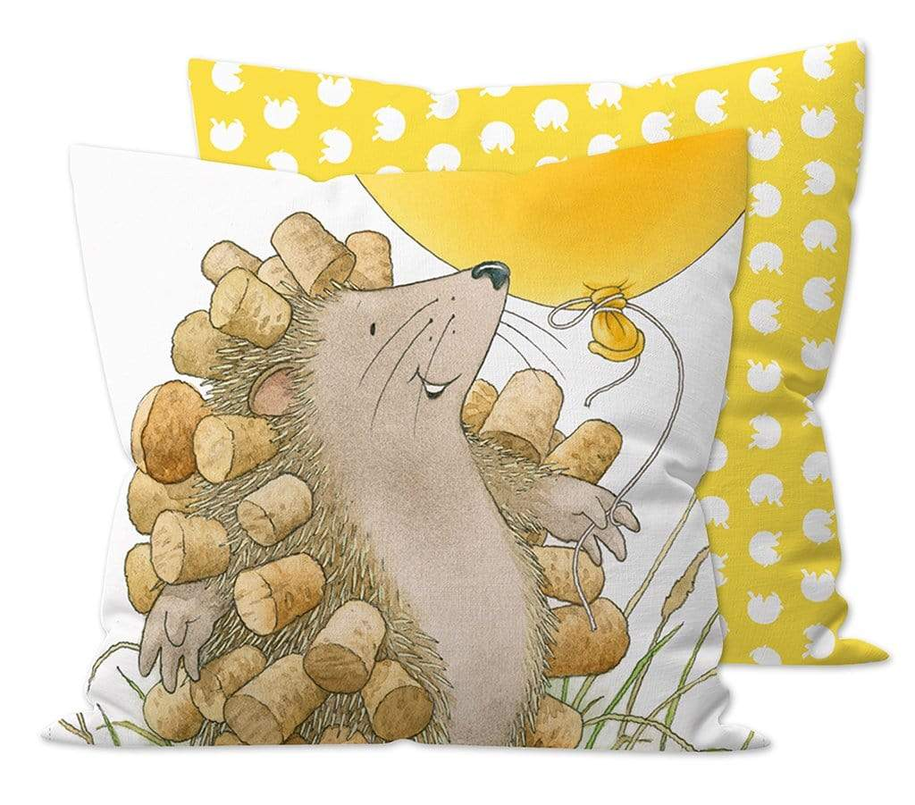 Percy The Park Keeper Cushion Percy The Park Keeper - Hedgehog's Balloon cushion