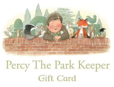 Percy The Park Keeper gift card Percy The Park Keeper gift card