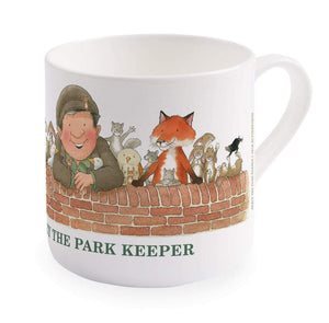 Percy The Park Keeper Mug Percy and friends - big bone china mug