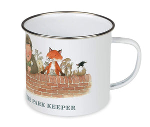 Percy The Park Keeper Mug Percy and friends - enamel mug
