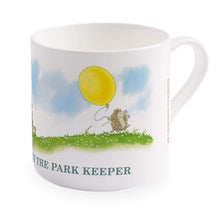 Percy The Park Keeper Mug Percy and the Hedgehog's balloon - big bone china mug