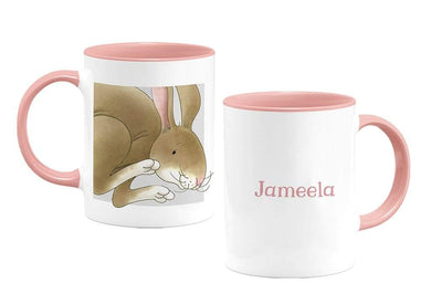 Percy The Park Keeper Mug Rabbit - personalised two-tone mug