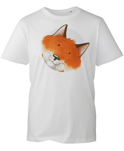 Percy The Park Keeper T-shirt Fox T-shirt - White