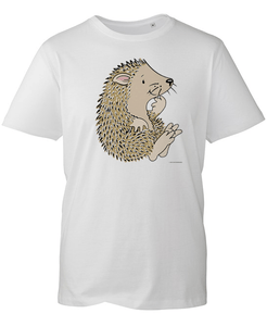Percy The Park Keeper T-shirt Hedgehog T-shirt - White