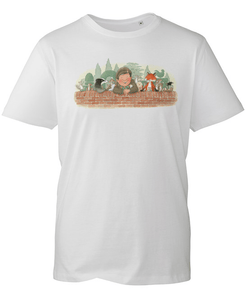 Percy The Park Keeper T-shirt Percy & Friends T-shirt - White