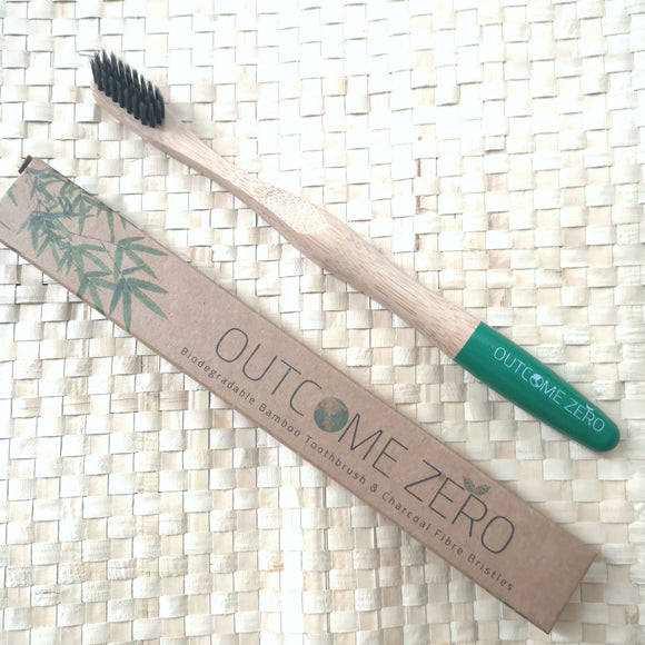 Charcoal Bamboo Toothbrush