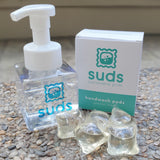 Suds Antibacterial Lavender Handwash Pods with Foam Dispenser