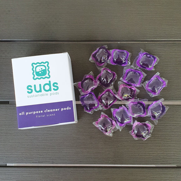 Suds Antibacterial All Purpose Cleaner Pods - Refills 15s