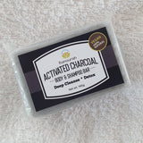 Activated Charcoal Body & Shampoo Bar