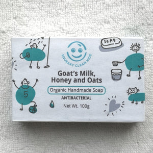 Goat's Milk, Honey and Oats Soap