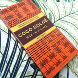 Coco Dolce Milk Chocolate with Rice Crisps